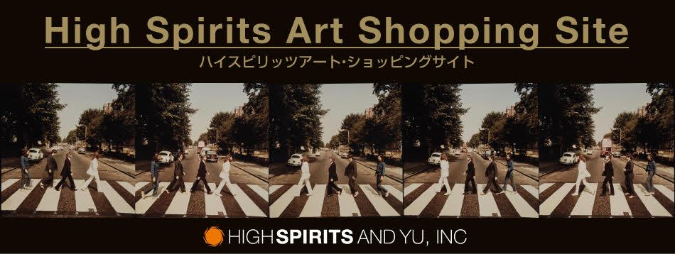 High Spirits Art ショッピングサイトバナー